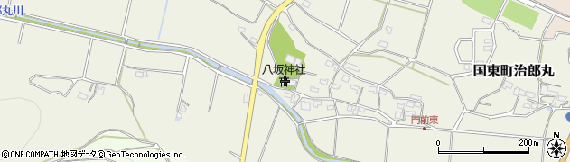 大分県国東市国東町治郎丸605周辺の地図