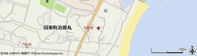 大分県国東市国東町治郎丸61周辺の地図