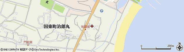 大分県国東市国東町治郎丸62周辺の地図