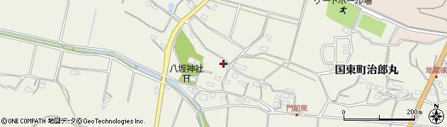 大分県国東市国東町治郎丸633周辺の地図