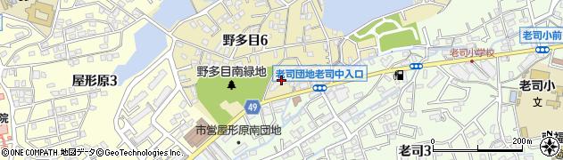 老司エクセル15周辺の地図