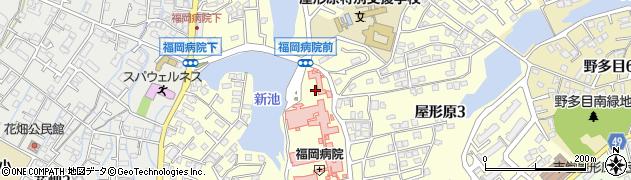 福岡県福岡市南区屋形原周辺の地図