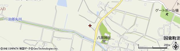 大分県国東市国東町治郎丸593周辺の地図