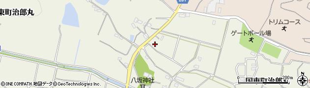 大分県国東市国東町治郎丸467周辺の地図