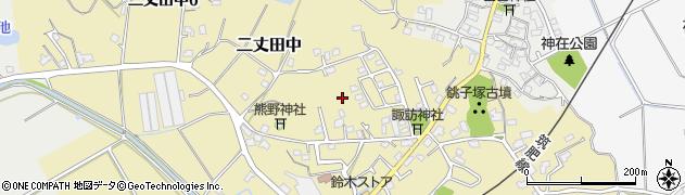 福岡県糸島市二丈田中周辺の地図