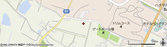 大分県国東市国東町治郎丸422周辺の地図