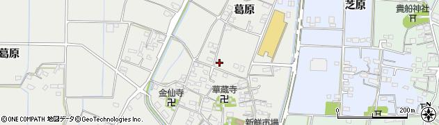 大分県宇佐市葛原周辺の地図