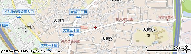 洗光舎乙金店周辺の地図