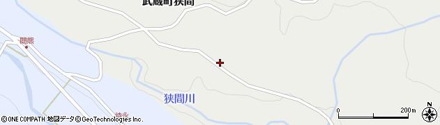 大分県国東市武蔵町狭間610周辺の地図