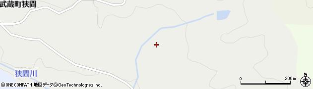 大分県国東市武蔵町狭間久保畑周辺の地図