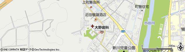 愛媛県喜多郡内子町五十崎甲周辺の地図