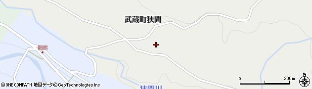 大分県国東市武蔵町狭間660周辺の地図