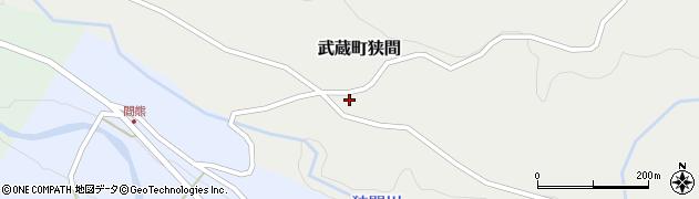 大分県国東市武蔵町狭間711周辺の地図