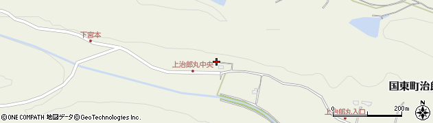 大分県国東市国東町治郎丸1419周辺の地図