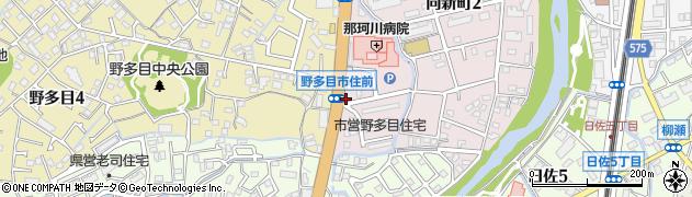 つきじ周辺の地図