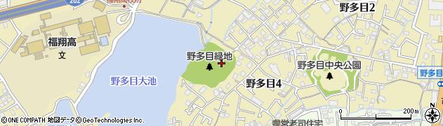 照天神社周辺の地図