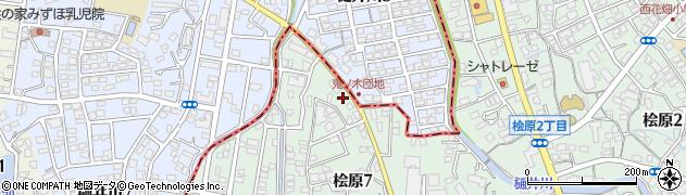 ペットサロンピーチ周辺の地図