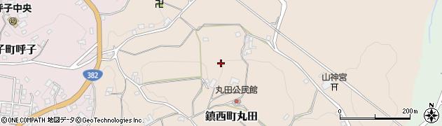 佐賀県唐津市鎮西町丸田周辺の地図