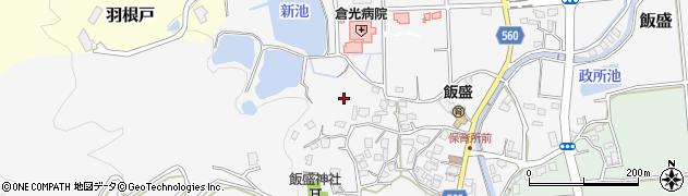 福岡県福岡市西区飯盛周辺の地図