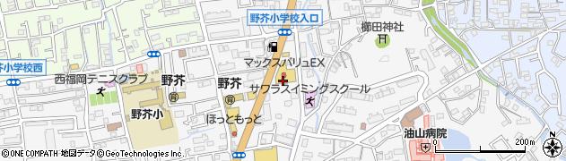 福岡県福岡市早良区野芥周辺の地図