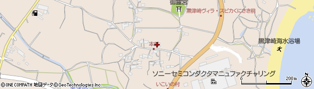 大分県国東市国東町小原3792周辺の地図
