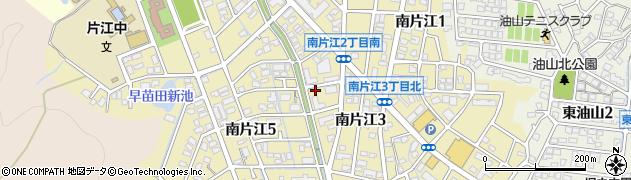 福岡県福岡市城南区南片江周辺の地図