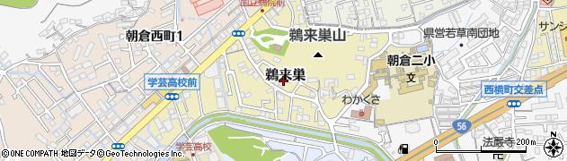 高知県高知市鵜来巣周辺の地図