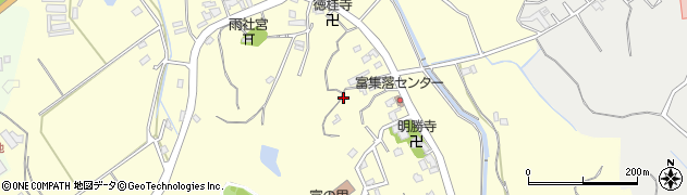 福岡県糸島市富周辺の地図