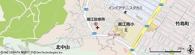 高知県高知市高見町周辺の地図
