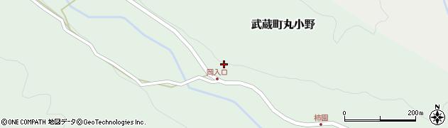大分県国東市武蔵町丸小野1720周辺の地図