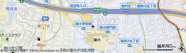 大野城二丈線周辺の地図