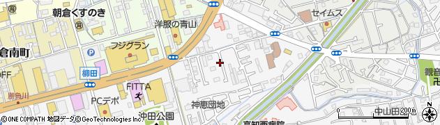 高知県高知市朝倉(甲)周辺の地図