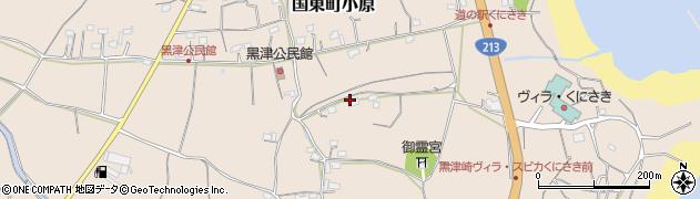大分県国東市国東町小原3507周辺の地図