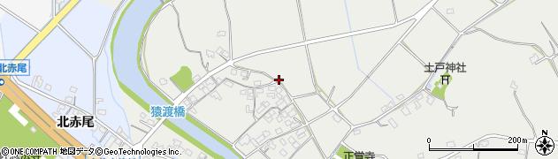 大分県宇佐市猿渡周辺の地図