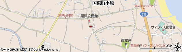 大分県国東市国東町小原2807周辺の地図