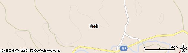 福岡県飯塚市弥山周辺の地図
