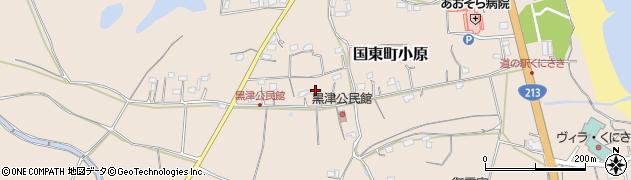 大分県国東市国東町小原2831周辺の地図