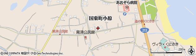大分県国東市国東町小原2790周辺の地図
