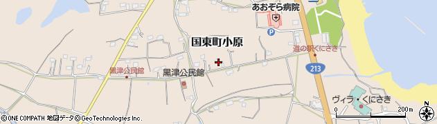 大分県国東市国東町小原2769周辺の地図
