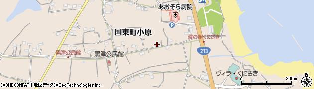 大分県国東市国東町小原2745周辺の地図