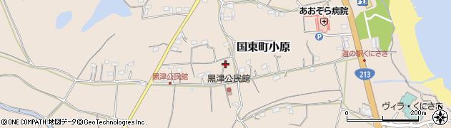 大分県国東市国東町小原2820周辺の地図