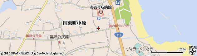 大分県国東市国東町小原2749周辺の地図
