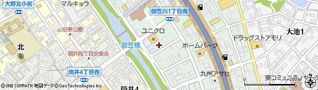 ホーメイ商工株式会社 福岡営業所周辺の地図