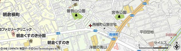 高知県高知市朝倉東町周辺の地図