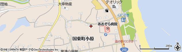 大分県国東市国東町小原2615周辺の地図