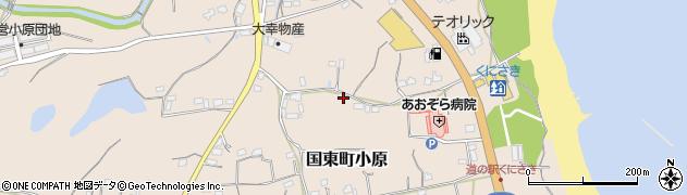 大分県国東市国東町小原2607周辺の地図