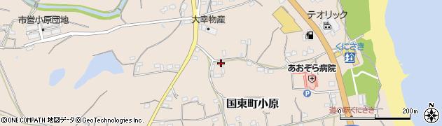 大分県国東市国東町小原2595周辺の地図