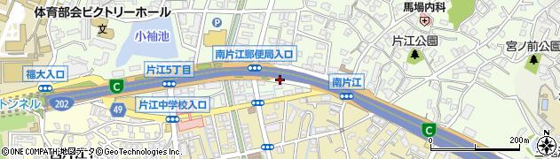 国道202号線周辺の地図
