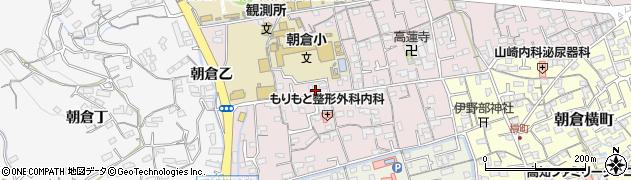 高知県高知市朝倉本町周辺の地図