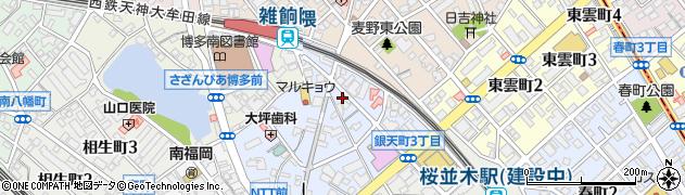 有限会社プリンスビューティ企画センター周辺の地図